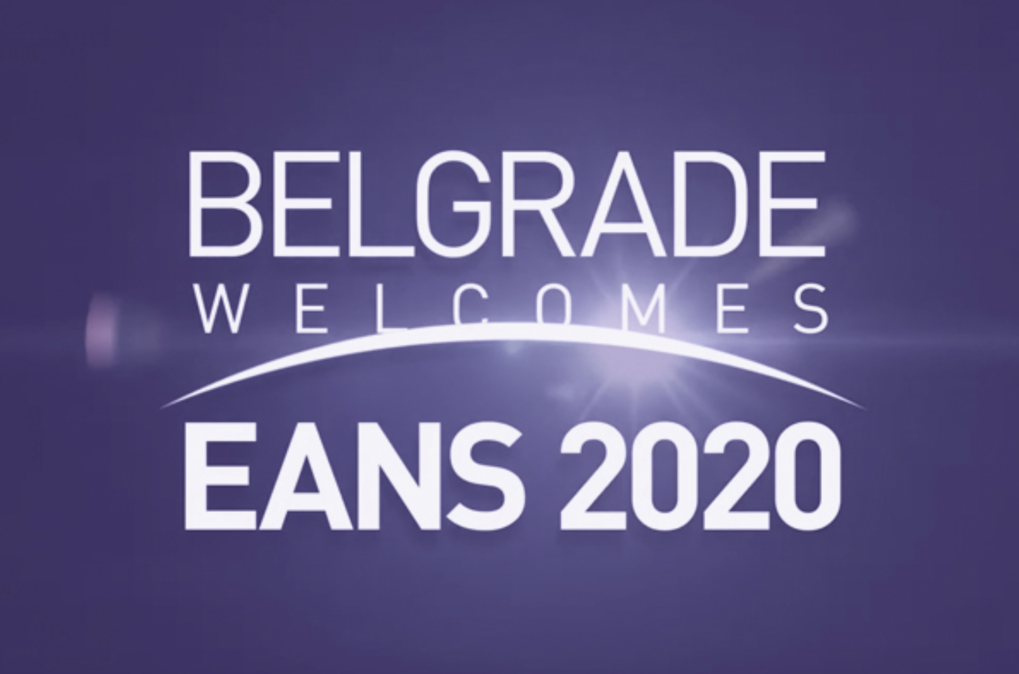 EANS Congress 2020, Belgrade, October 18 – 22