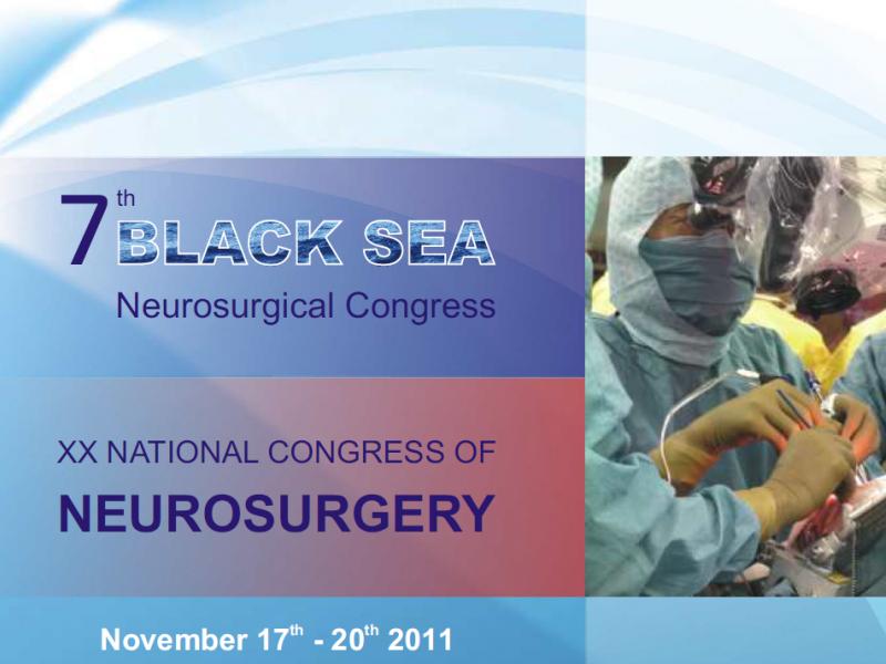 ХХ Национална конференция по неврохирургия